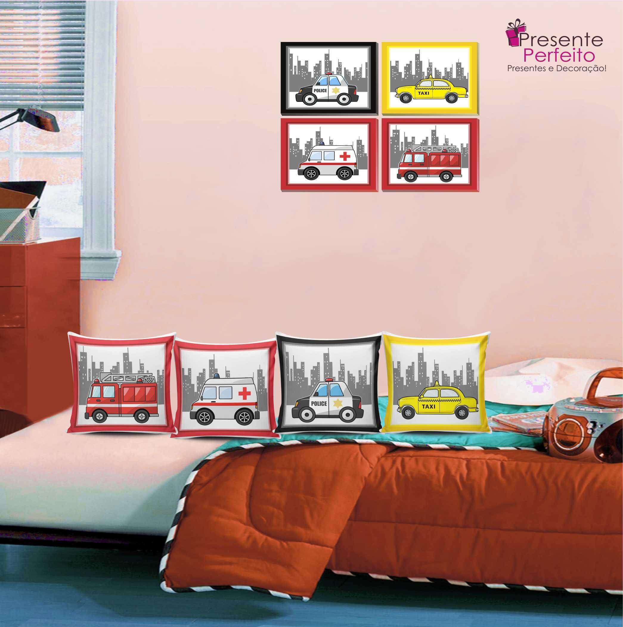 Quarto Menino Menina 2 Kits Decora O Loja Presente Perfeito  ~ Decoração De Quarto Criativa E Decoração Quarto De Bebe
