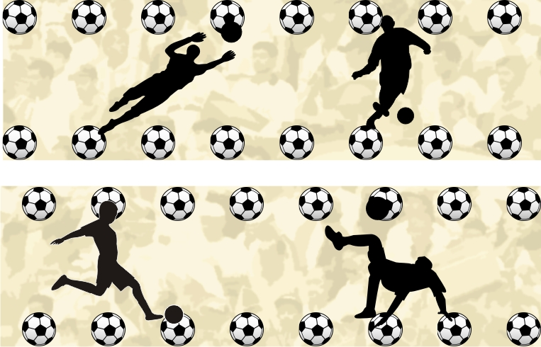 76f99d708809c Adesivo de Parede Times Futebol Brasileiro