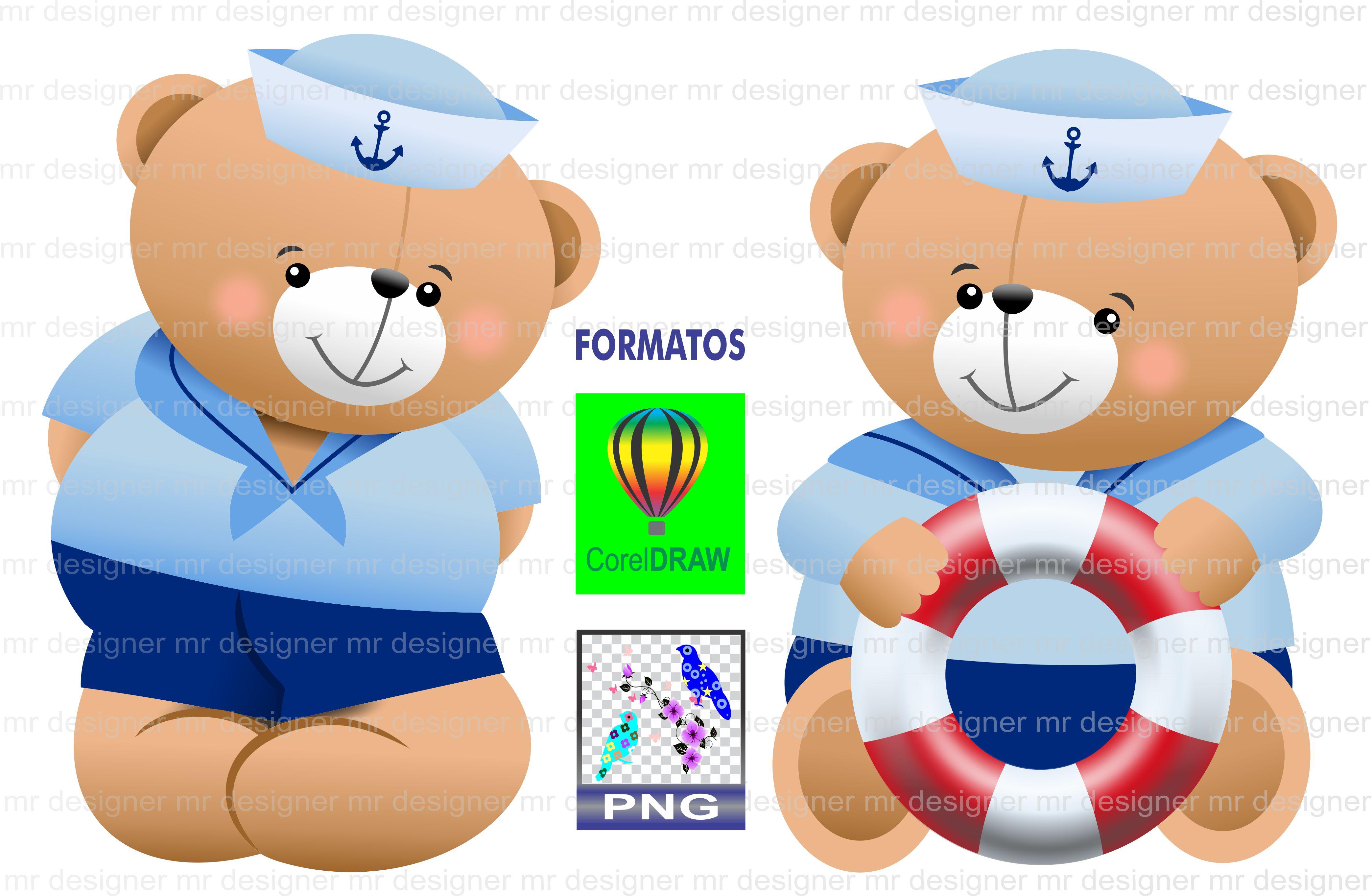 Urso Marinheiro Ursinho Baby No Elo7 Mr Designer 684b7f