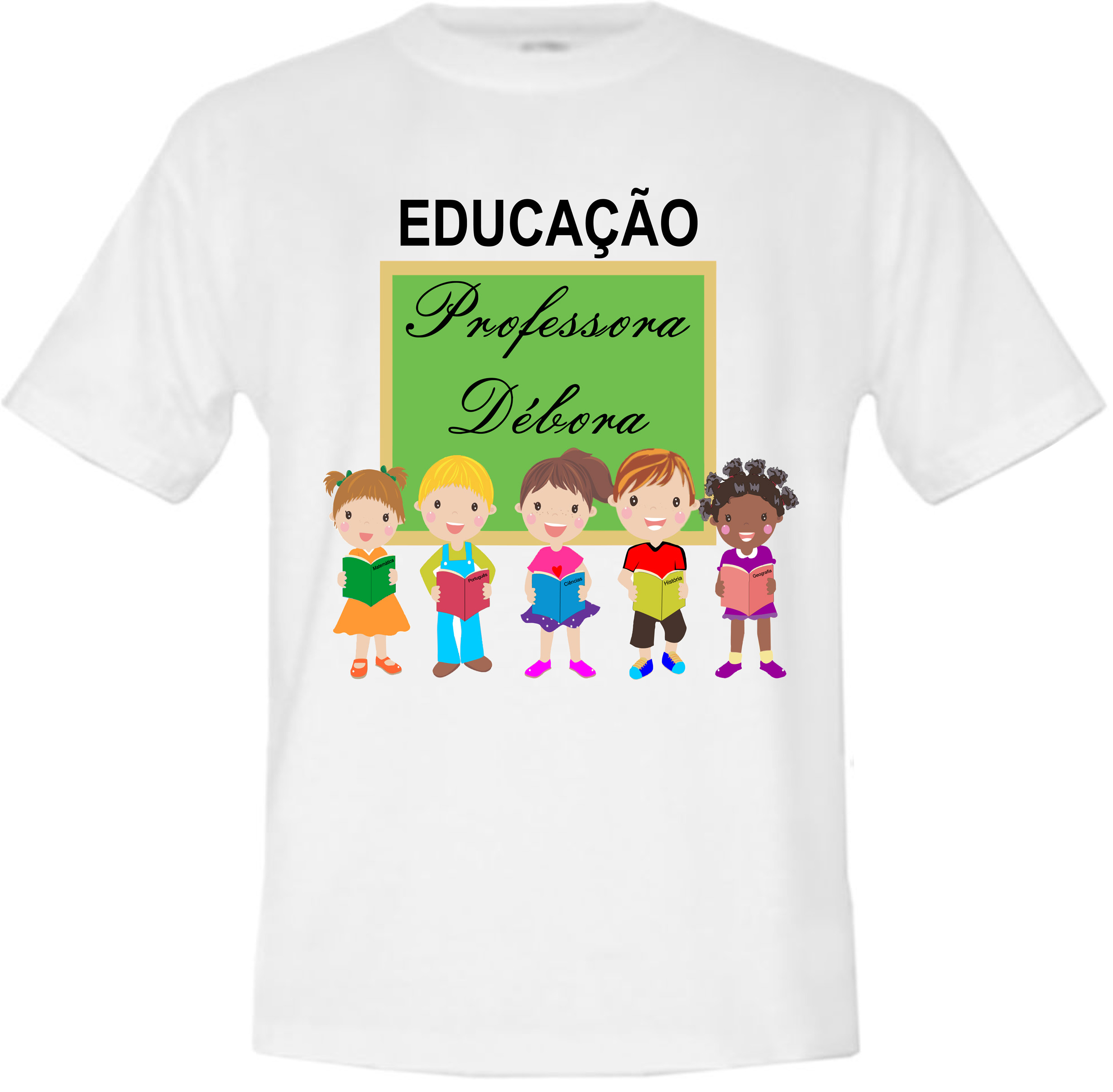 Camiseta Educação Infantil Elo7