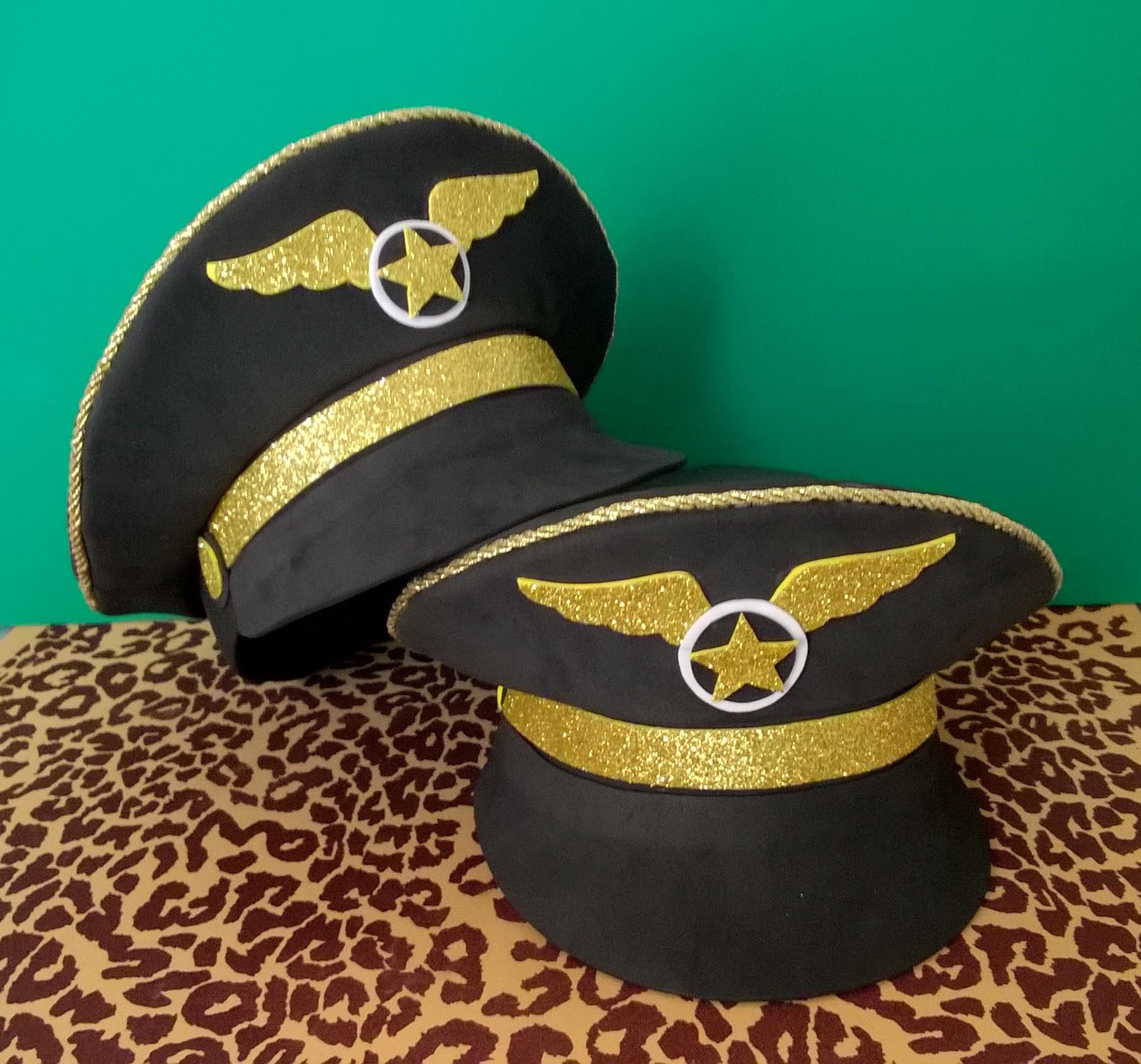 Quepe de Capitão da Aviação em E.V.A no Elo7  ee71c10d821