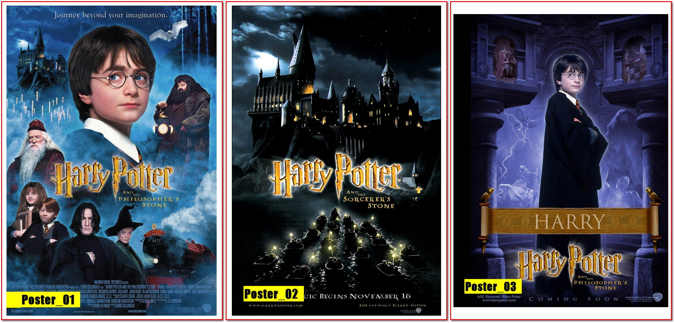 Harry Potter É A Pedra Filosofal regarding poster 30x40 - harrypedra filosofal   posterplus   elo7