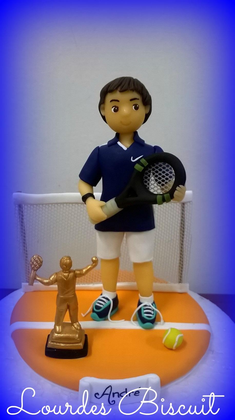 Bolo Decorado Quadra de Tenis  e797d64ac9904