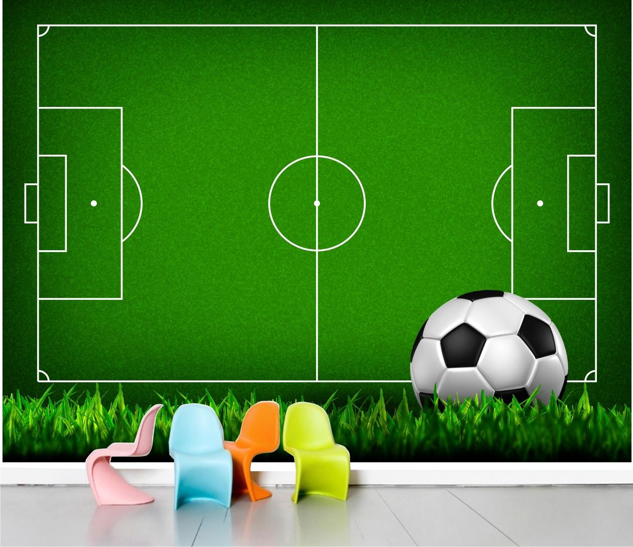 7205cbb239 Adesivo Painel Futebol - Coleção de QuartinhoDecorado ( quartinhodecorado)