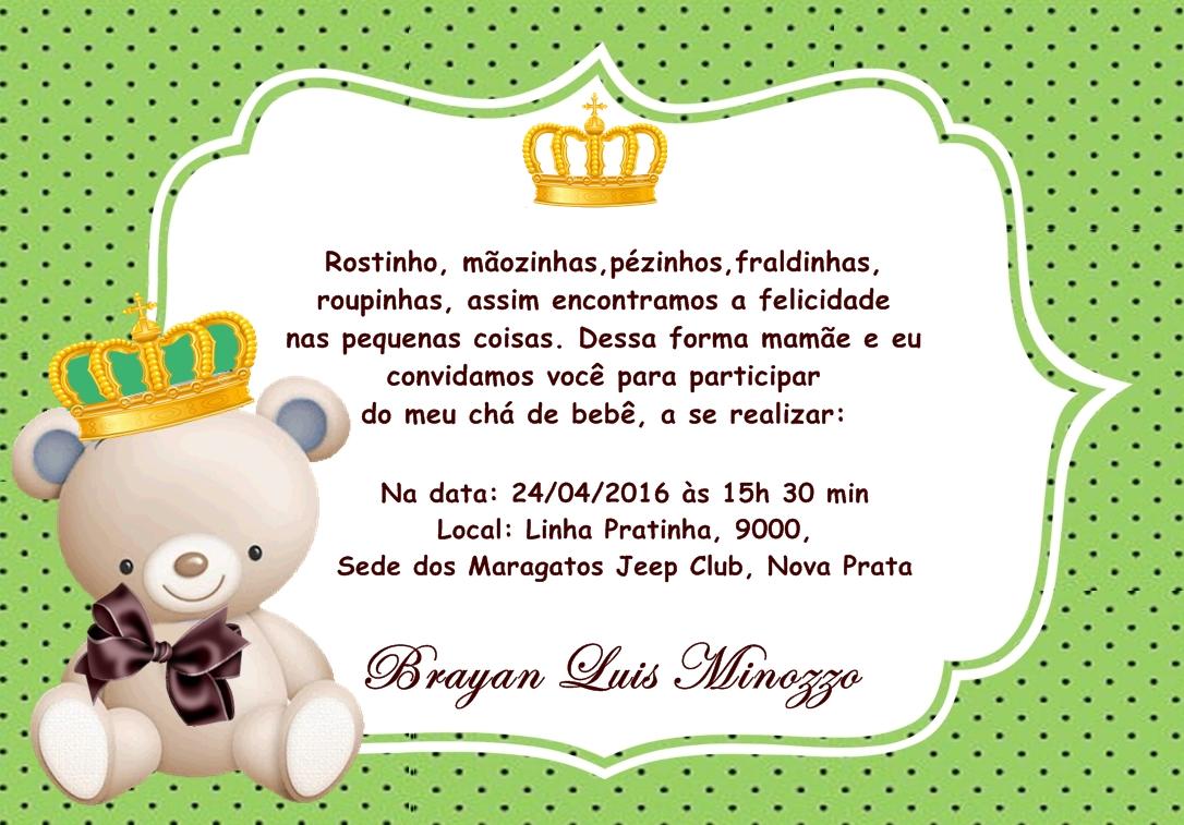 Convites Personalizados Chá De Bebê No Elo7 Renata Leal 6942dd