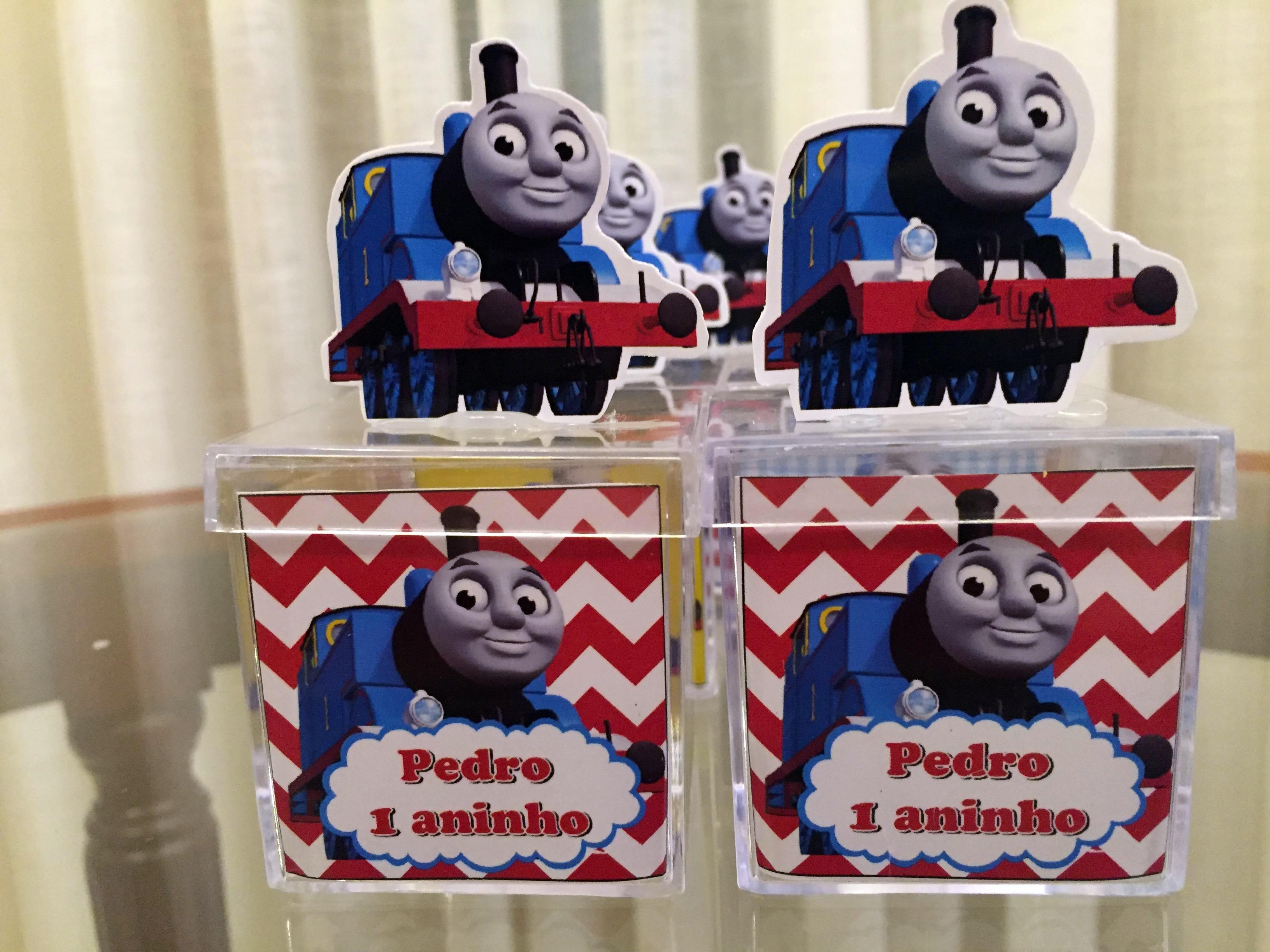 Caixinha Trem Thomas e seus amigos