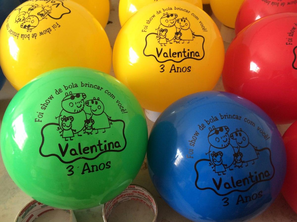 Kit de 50 bolas personalizadas dani brindes elo7 - Bolas de cristal personalizadas ...