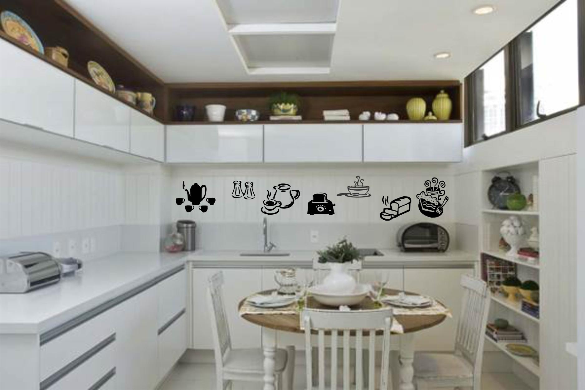Adesivos De Untens Lios Para Cozinha Adesivos E Decora Es Aum  ~ Armarios De Cozinha Suspenso