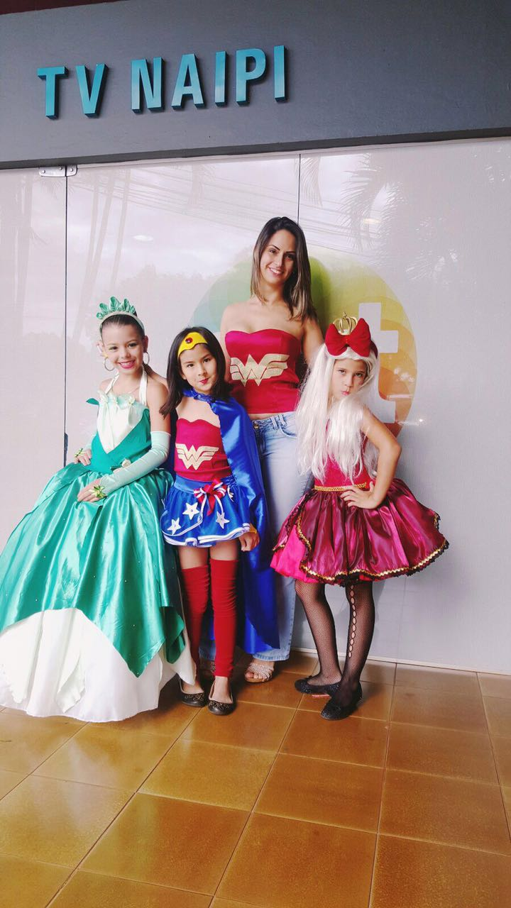 Fantasia Infantil Mulher Maravilha Completa No Elo7 Dalili Store