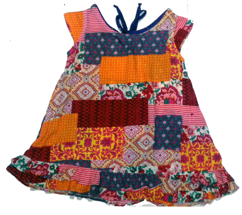 Excepcional Vestido Estampado - 100% viscose no Elo7 | Desejos de Sofia (6A9579) FJ44