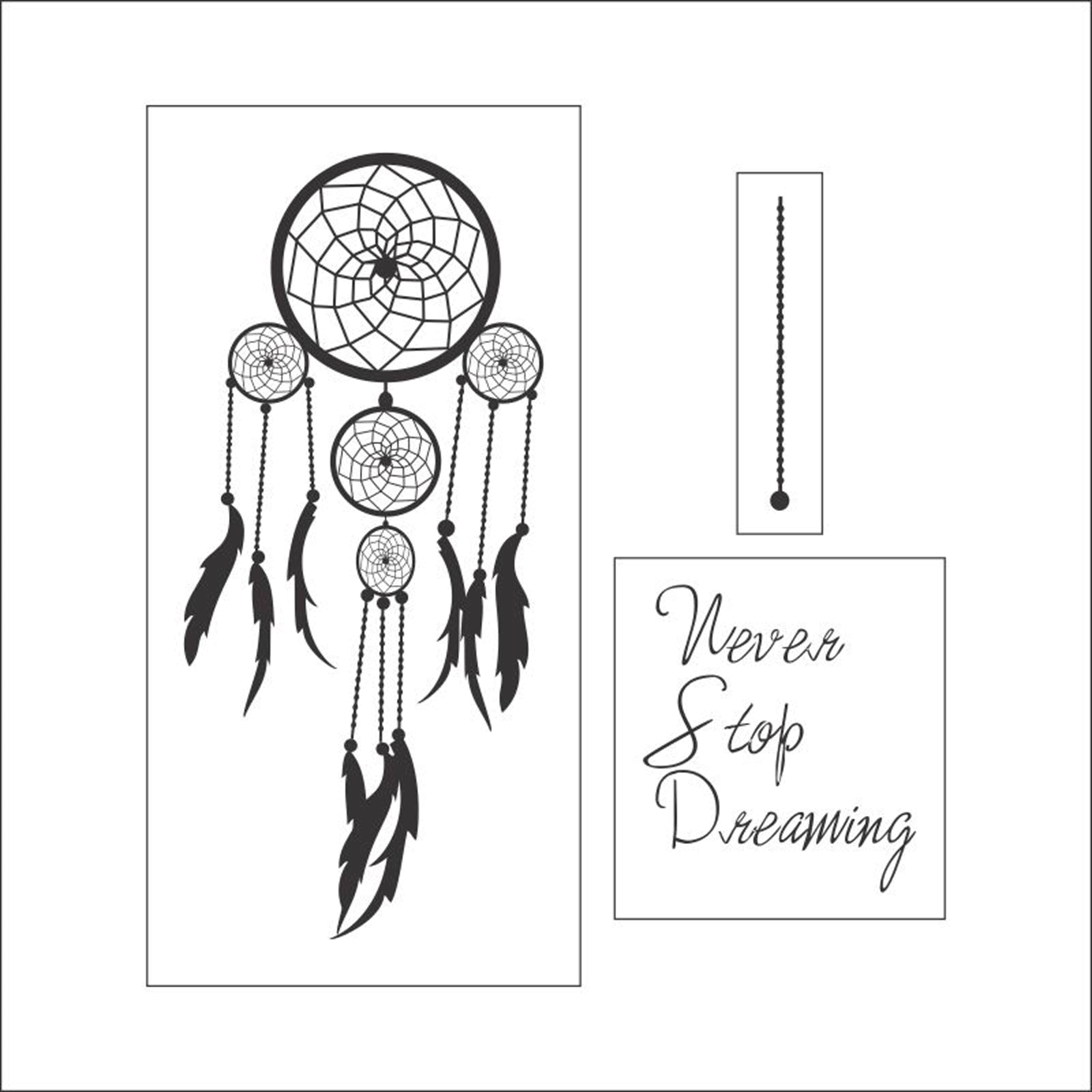 Adesivo Parede Apanhador De Sonhos No Elo7 Artm Decoração Criativa