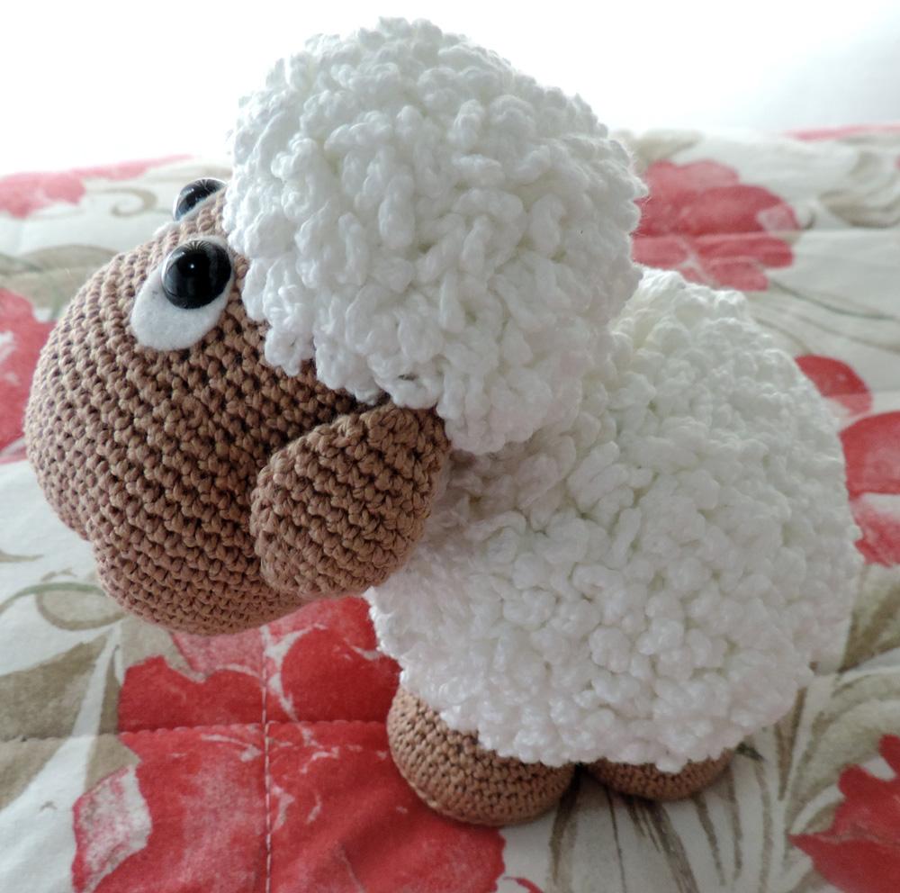 Amigurumi Rana : Amigurumi de Croch? Ovelha Mix RO Elo7