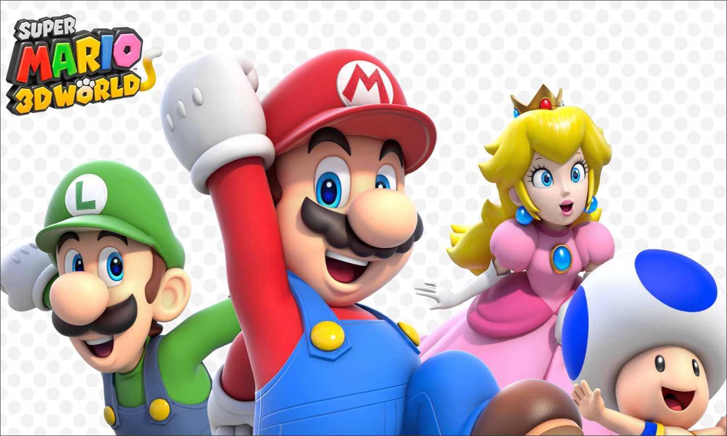 Painel Super Mario 3d G Frete Gratis No Elo7 Atelier Toque