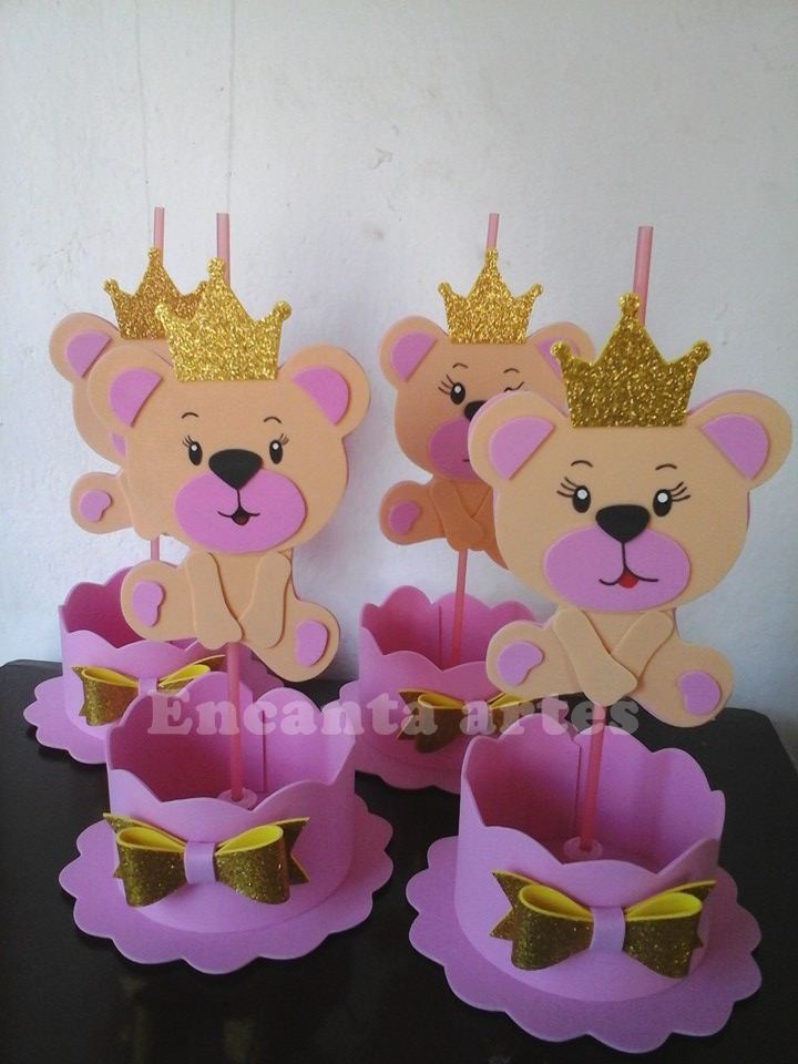 Fabuloso Centro de Mesa das Princesas | Elo7 OD38