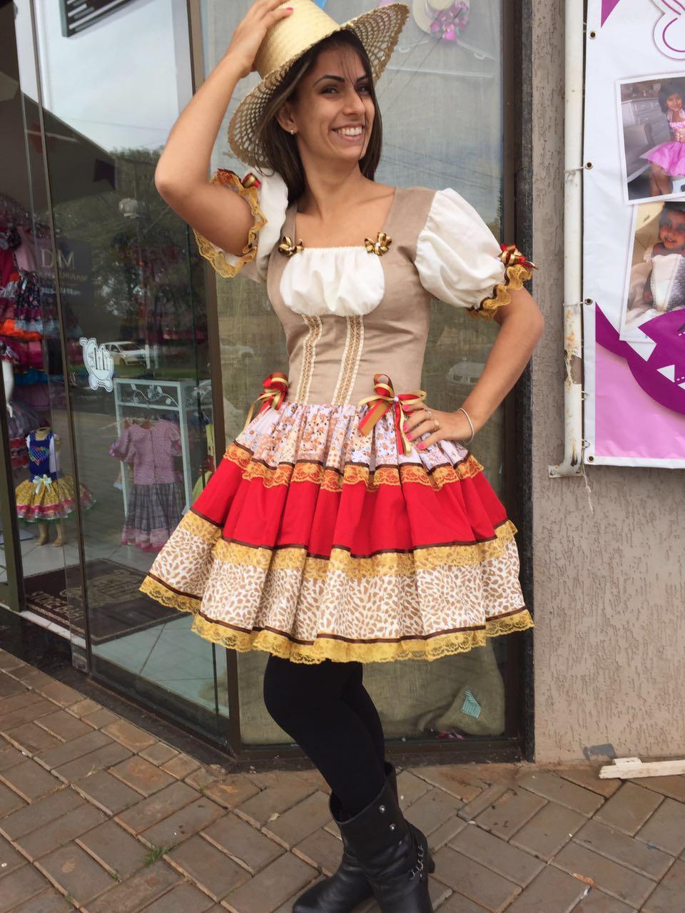Maria bonita vestidos de festa infantil