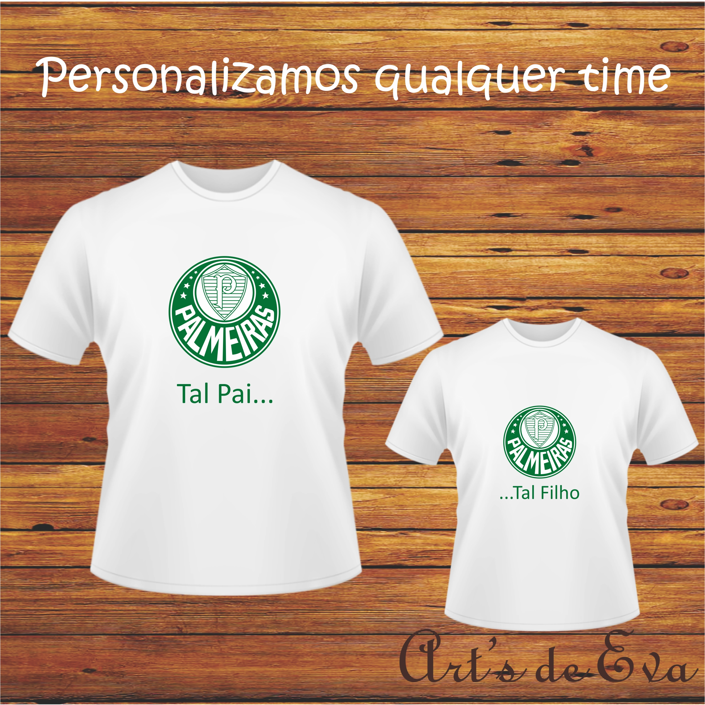 e247cba787d06 Camiseta Personalizada Pai e Filho