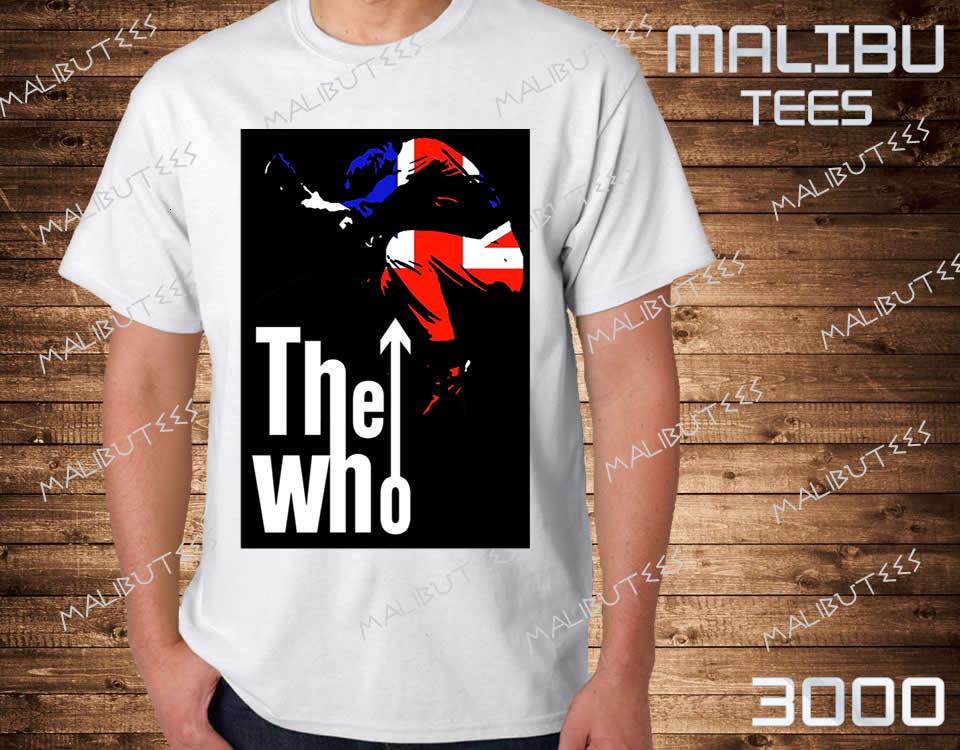 Camiseta Raglan The Who Banda de Rock  560e6c1cfe3b7