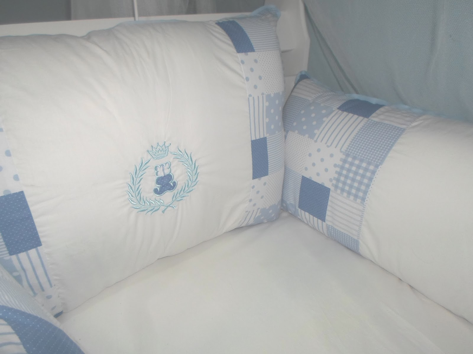 ef07817bb Kit Berco Americano Azul Ursinho