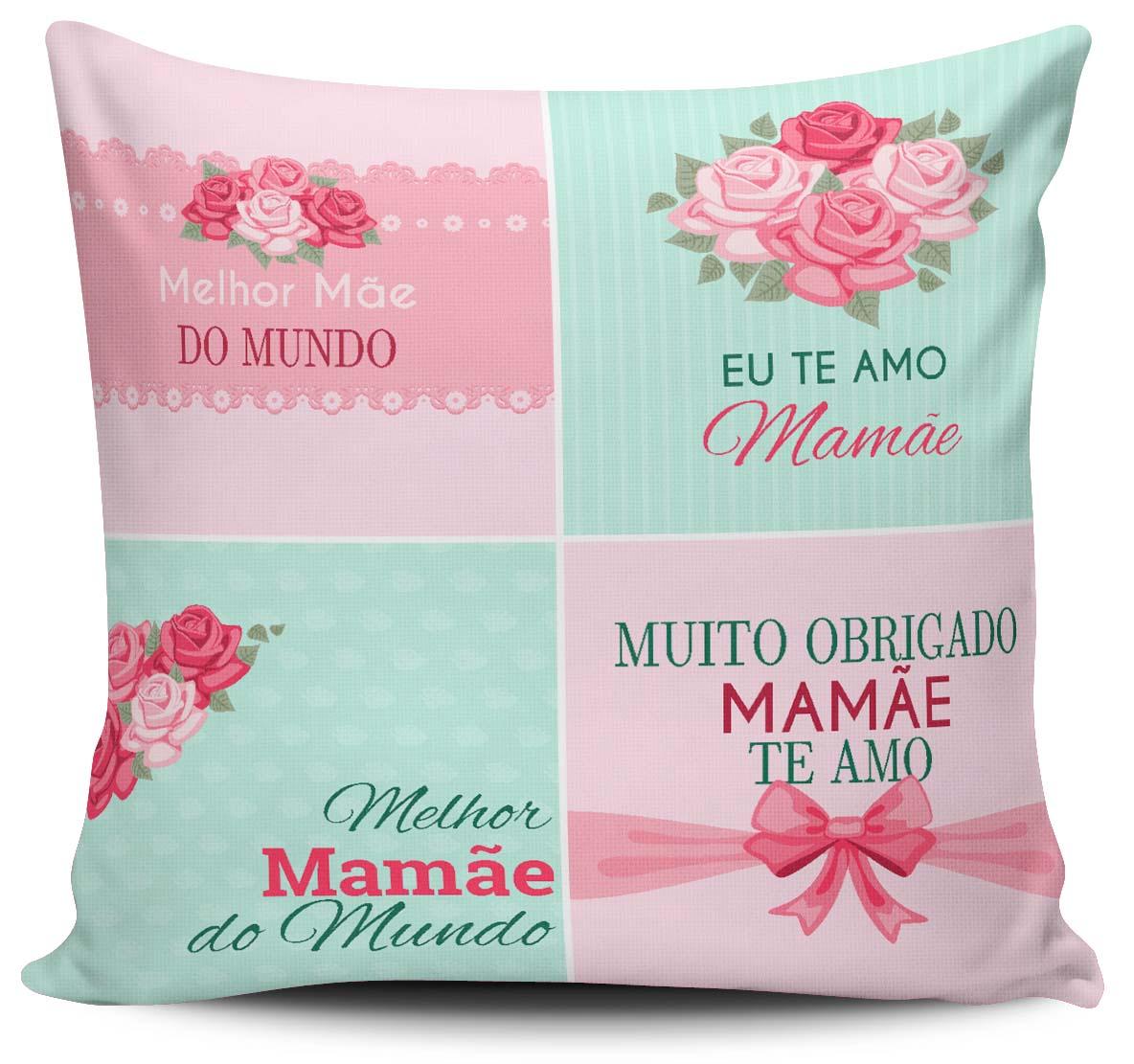 7d3d15253623e4 Almofada Eu te amo Mamãe