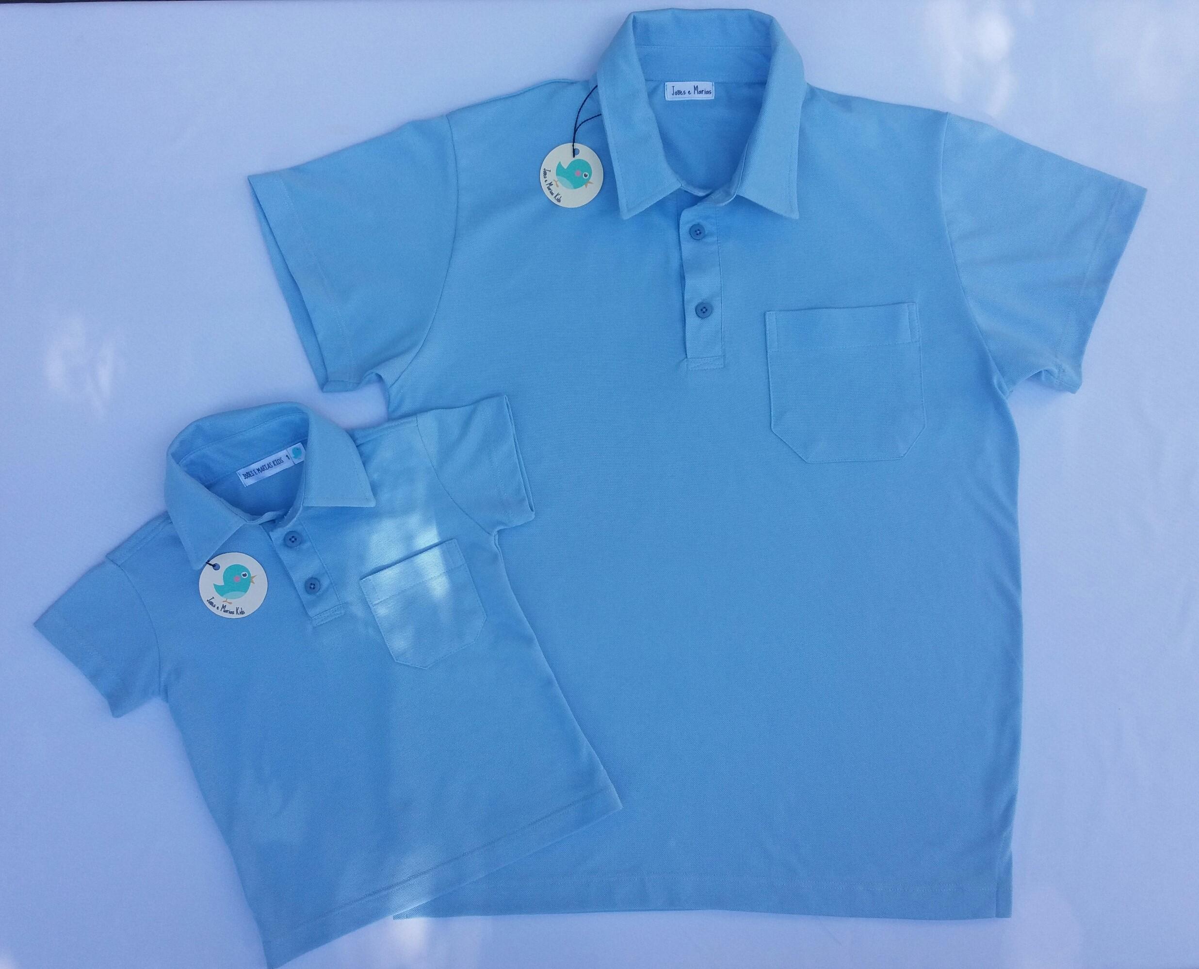 c706a910d3 Camisas Polo para Pai e Filho Iguais
