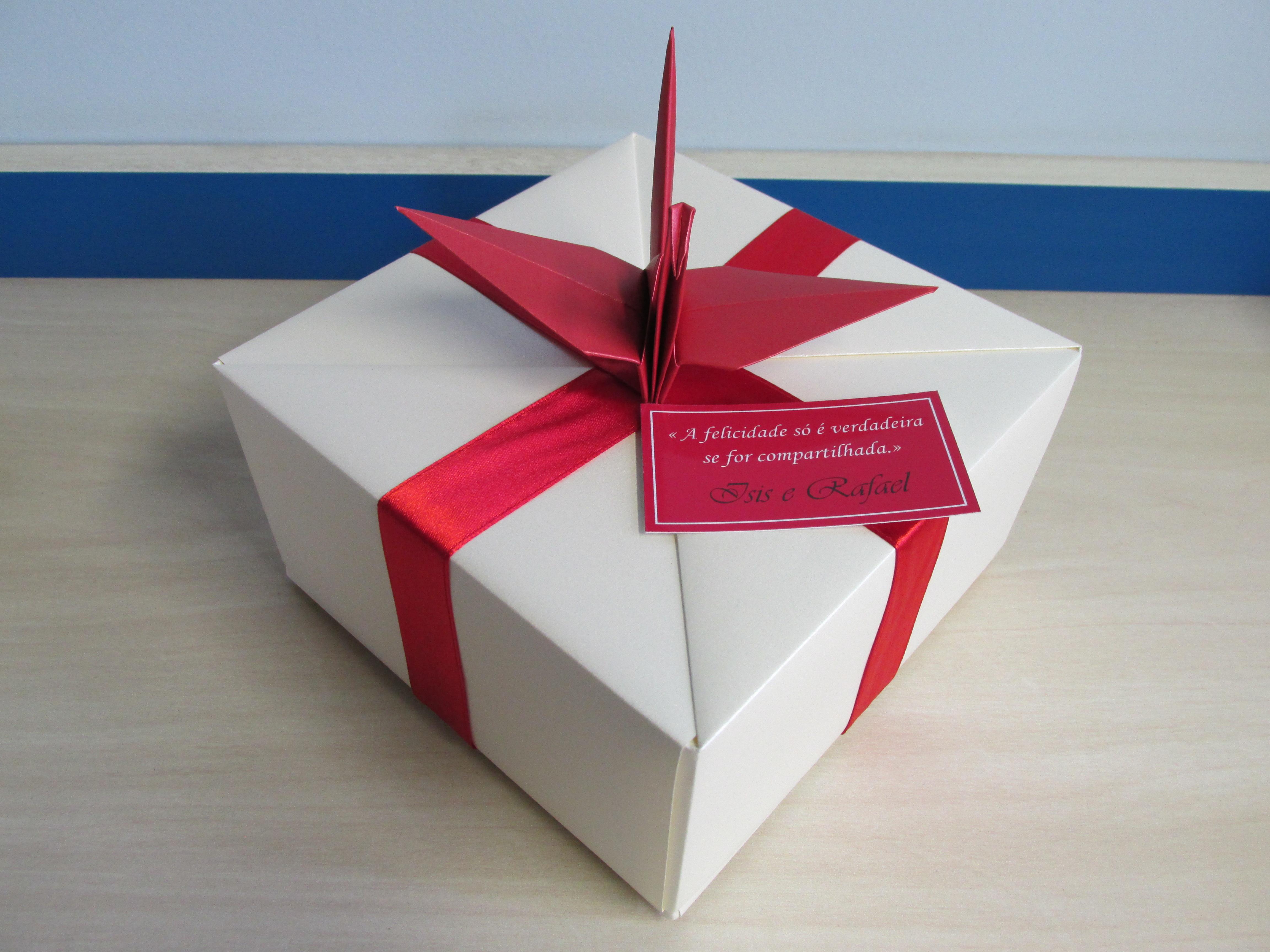 Caixa Origami Com Tsuru No Elo7 Fantasy Atelier 3d6027
