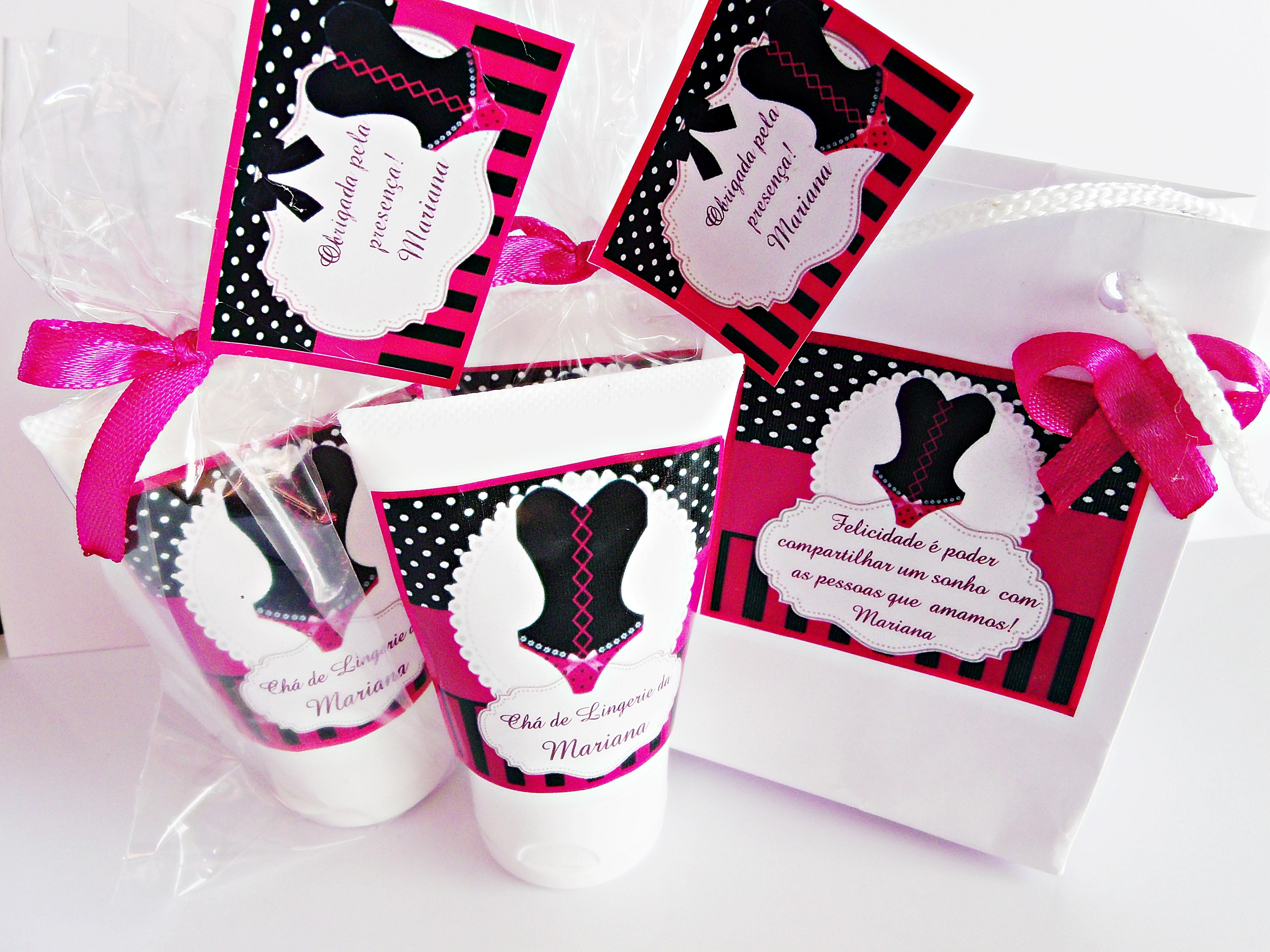 Lembrancinha chá de lingerie no Elo7 | Costa e Barletto decorações (6DE32D)