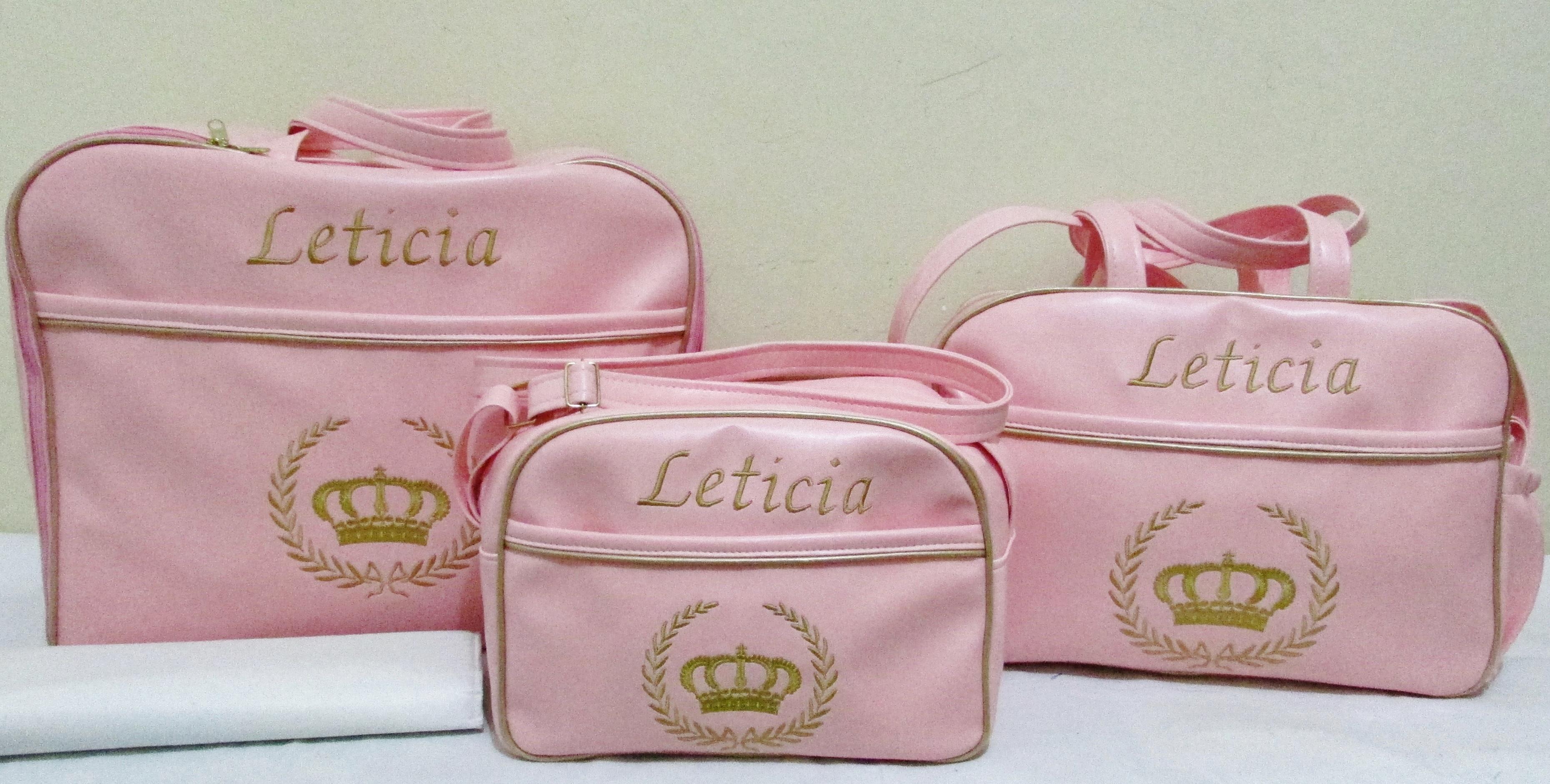 Bolsa De Festa Para Bebe : Kit bolsas de bebe coroa marysol e baby elo