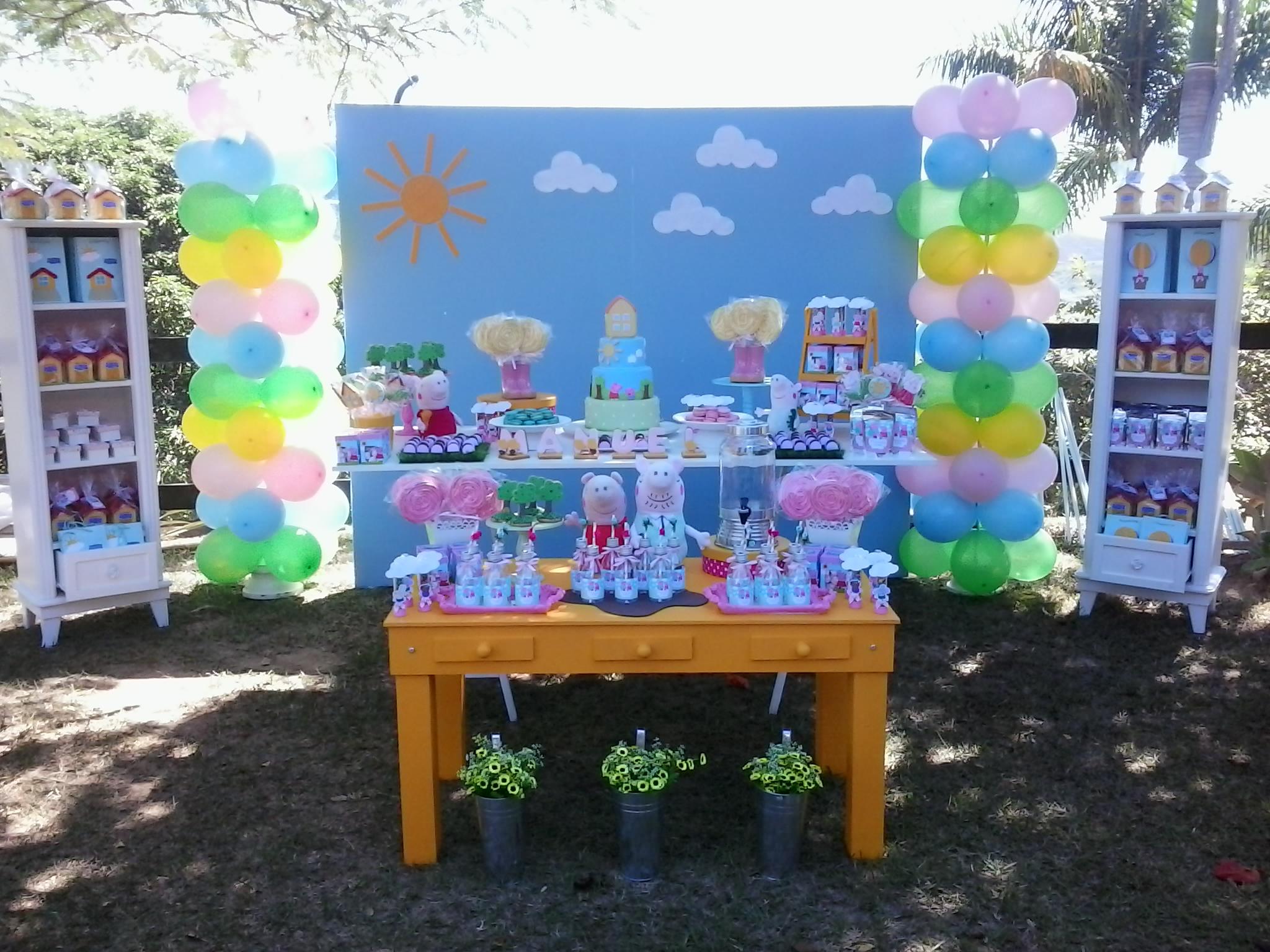 decoração-festa-peppa-george