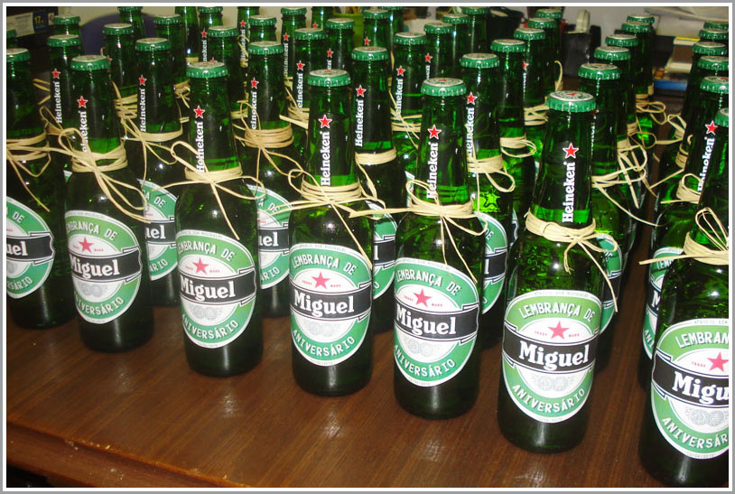 Suficiente Rótulo de Cerveja Personalizado no Elo7 | Noiva em Festa (6E5C0B) HR71