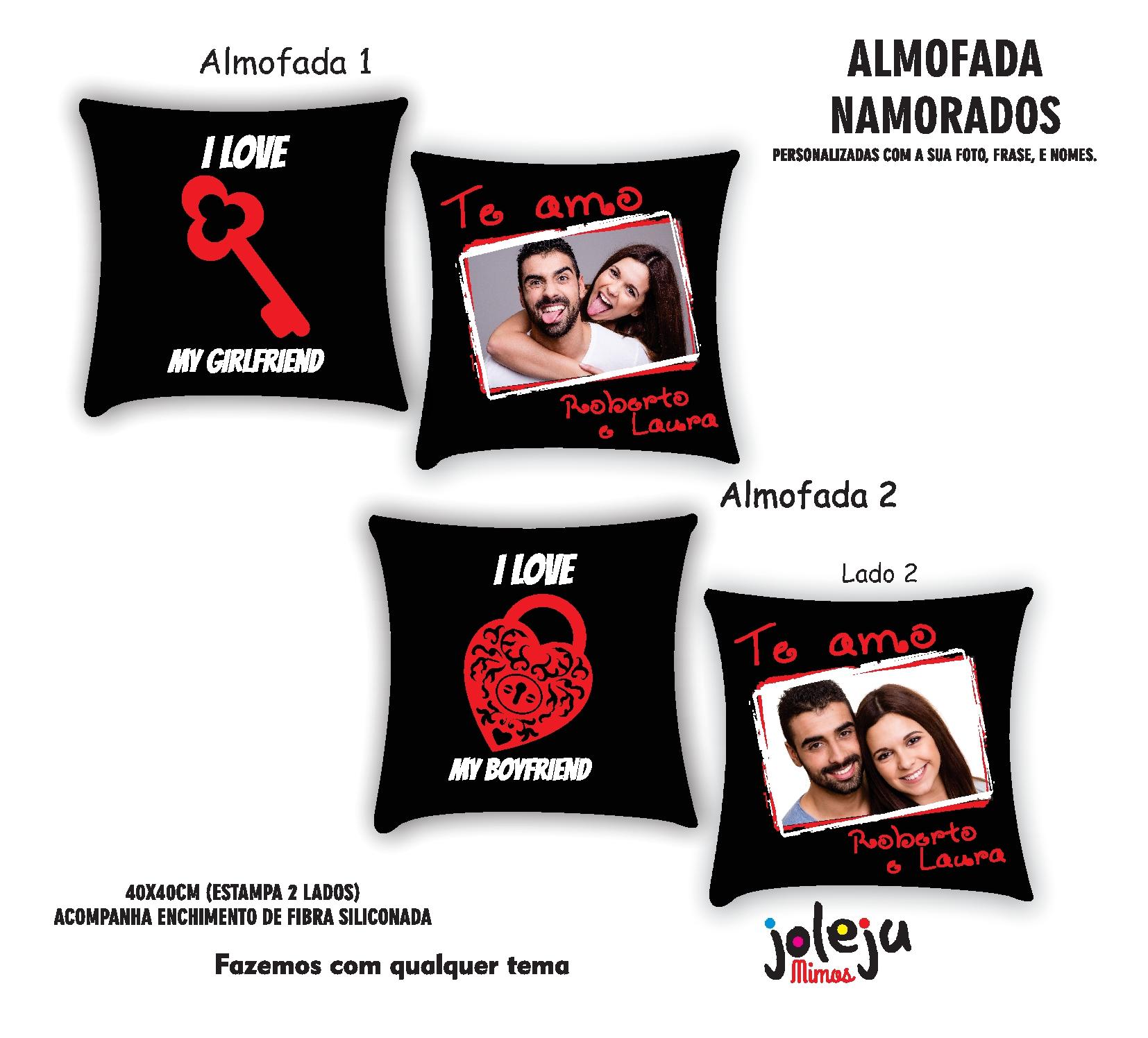 1496ae3a4 DIA DOS NAMORADOS - Coleção de Joleju Camisetas ( 2AA633)