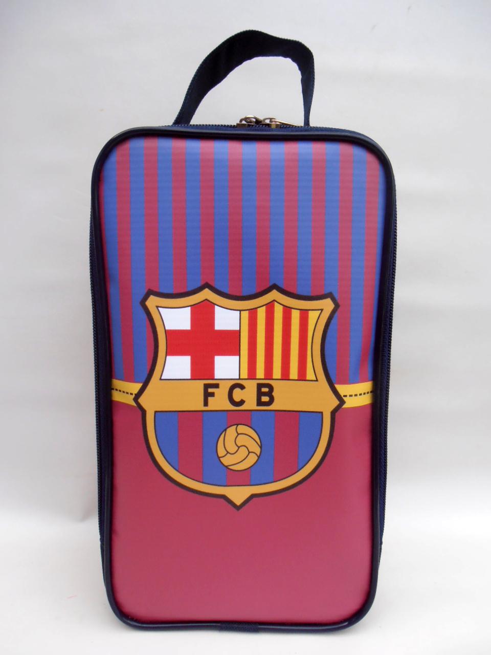 371838d32d Porta Chuteira Infantil Barcelona