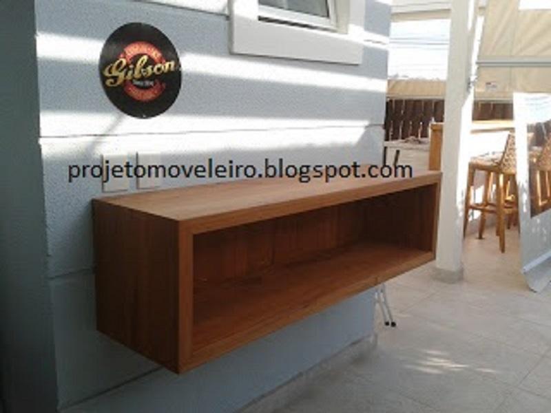 Aparador Suspenso Com Gavetas ~ Aparador suspenso madeira de demoliç u00e3o Lalo Art Decor Elo7