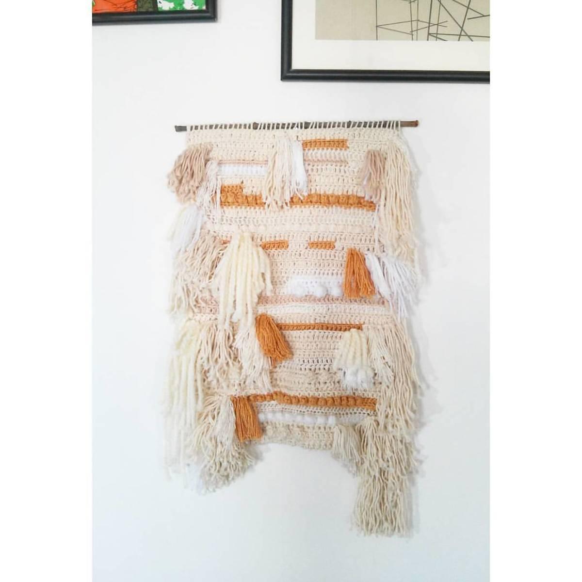 Design Of Tear crochê de parede e preço