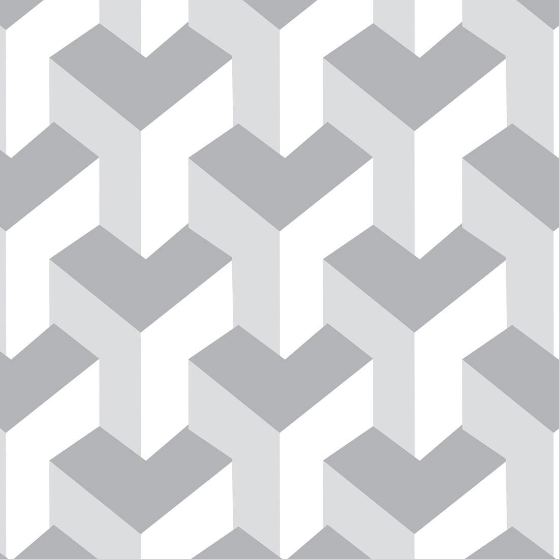 Papel De Parede Textura Em Tons De Branc Jmi Decor Elo7 ~ Papel De Parede Para Quarto Textura