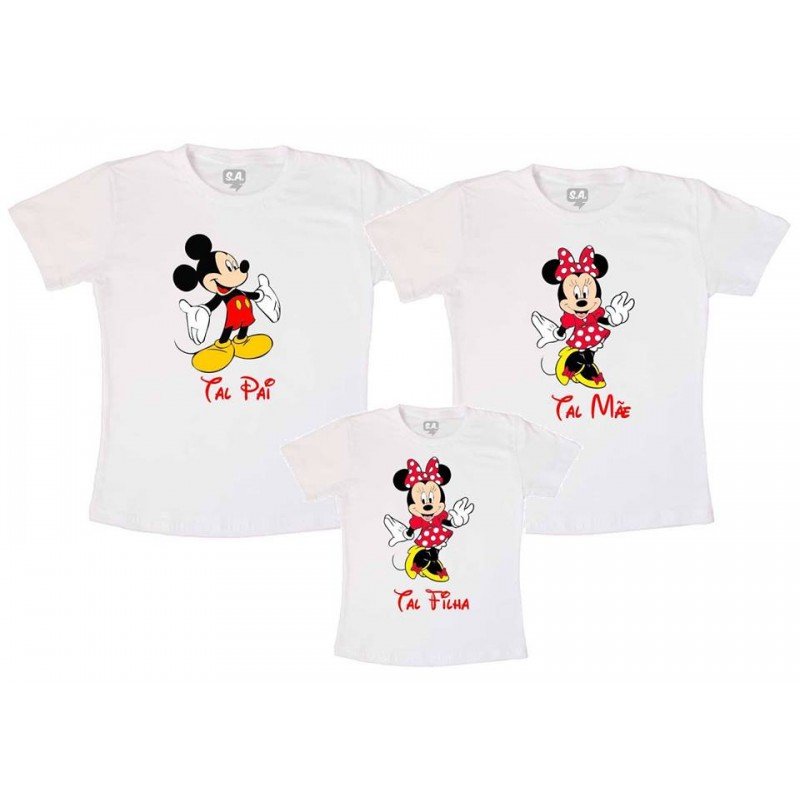 Kit 3 Camiseta Tal Mãe Tal Pai Tal Filha No Elo7 Lv Adesivos E