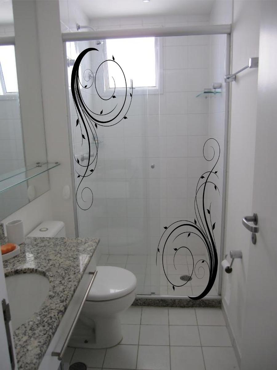 Adesivo Infantil De Parede ~ Adesivo box decoraç u00e3o banheiro espelho Adesivos Sempre Viva Elo7