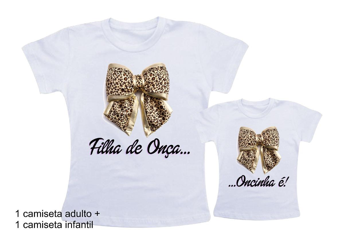 dccdf29b63148 Camiseta Oncinha   Elo7