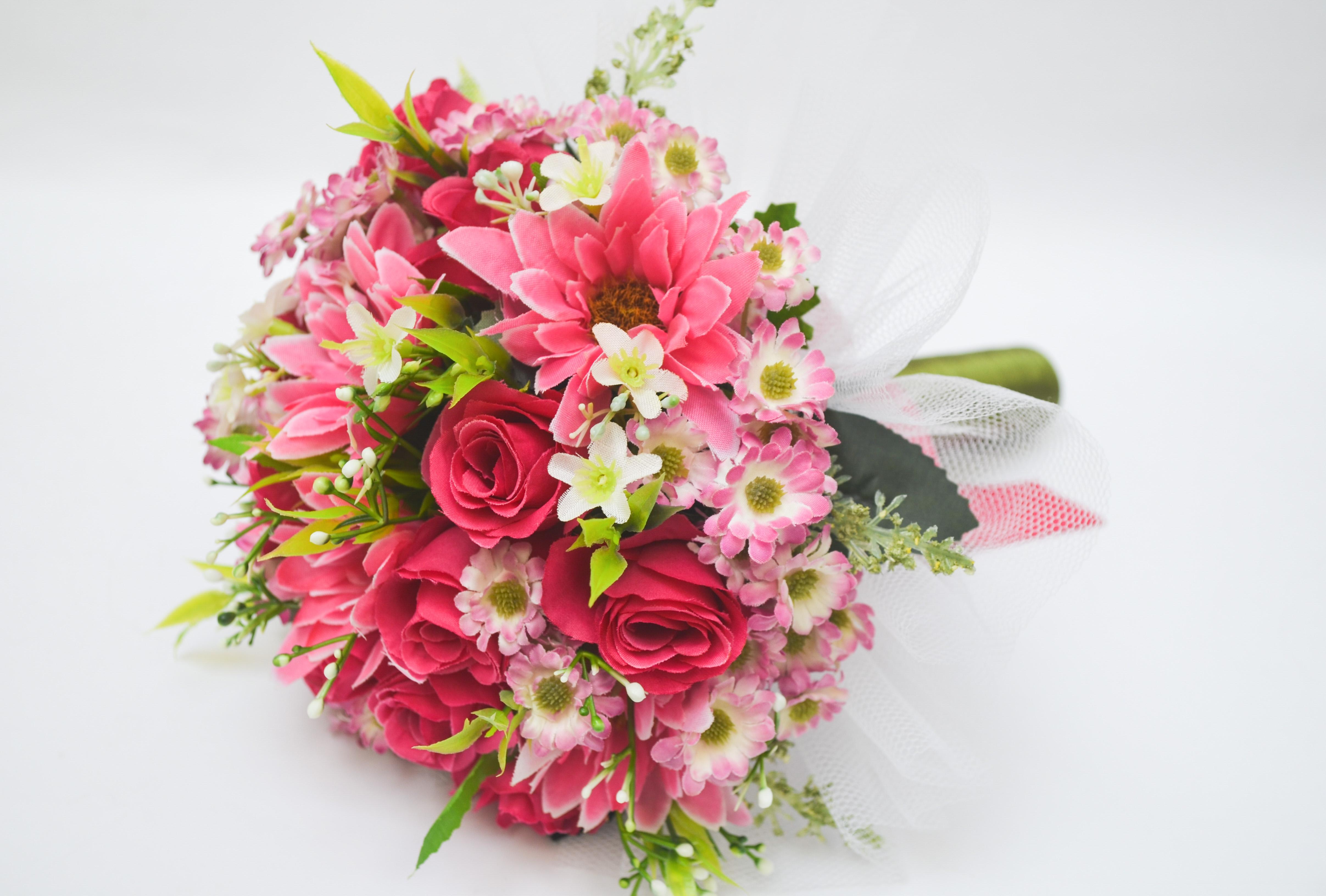 Buque Daminha Pink Flowers No Elo7 Pague Em Ate 12 X Sem Juros Nos Cartoes 6fb7a8