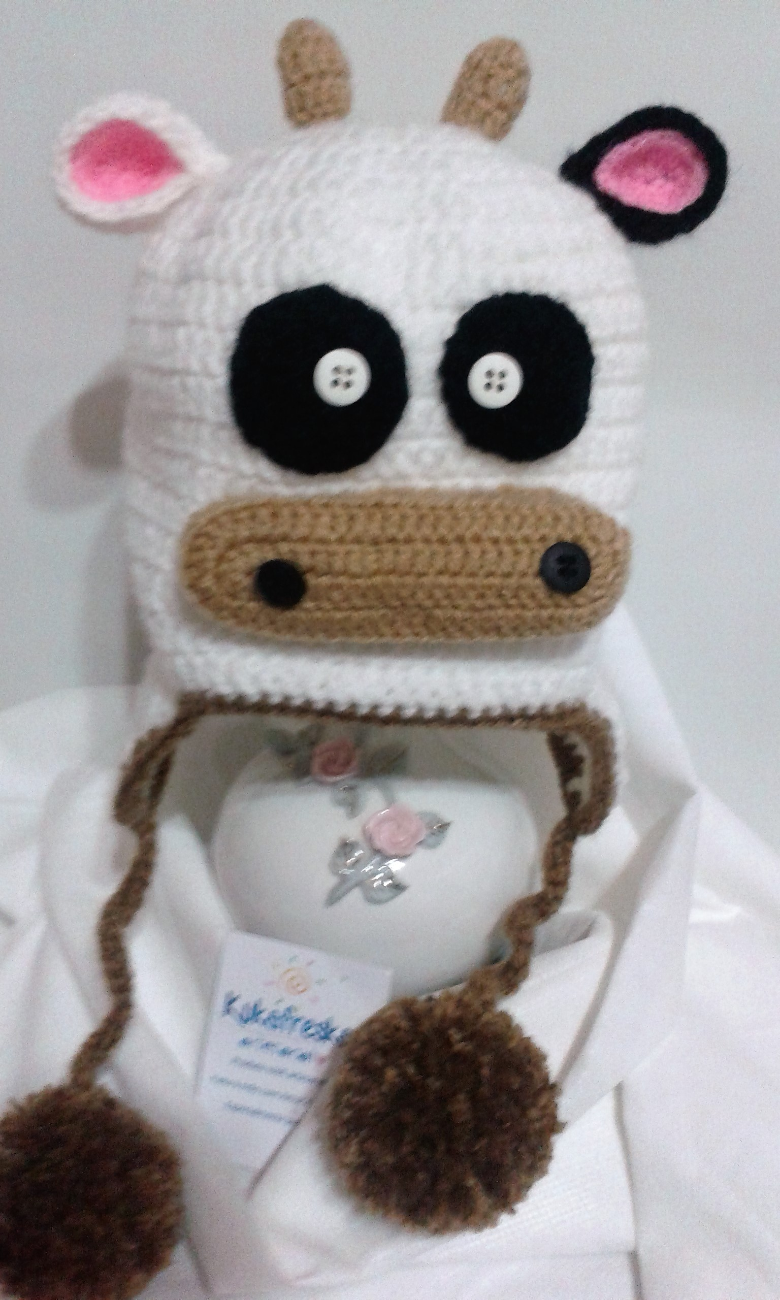 046e522465277 Touca de Croche Infantil Boizinho no Elo7