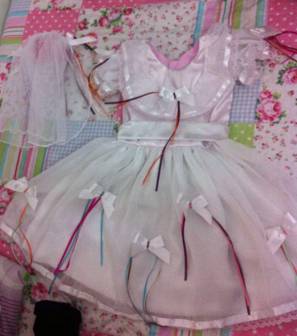 Vestido De Quadrilha Noiva Elo7