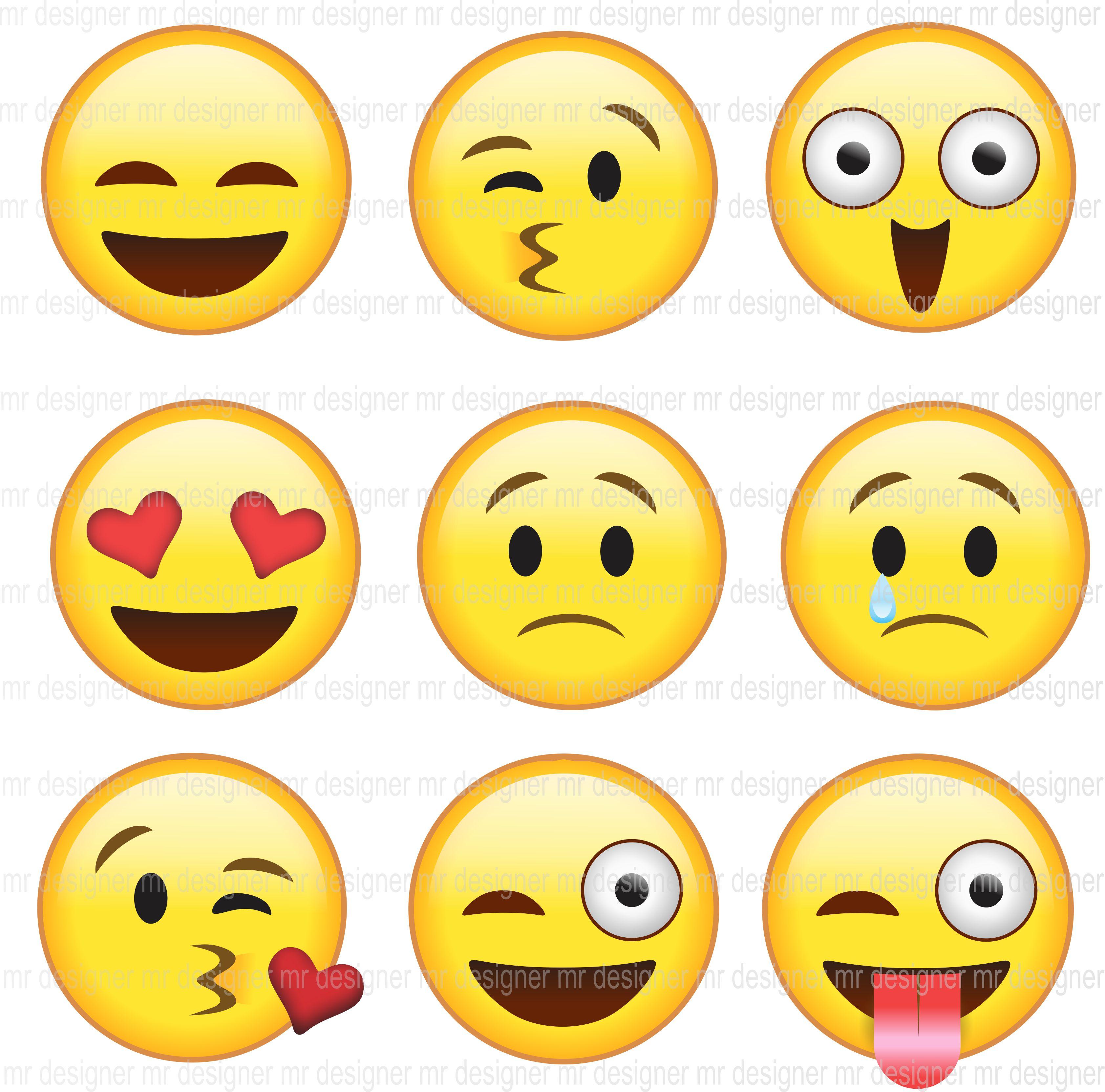 Emoticons do Whatsapp Vetores e Imagens | Elo7