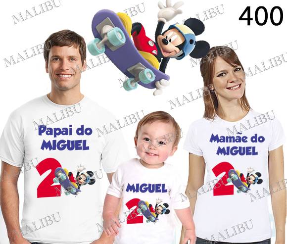 2ad0f940ecaad kit com 5 camisetas barcelona REF00 no Elo7