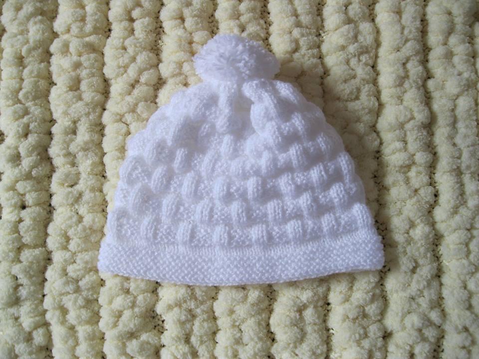 3ab872b43ea64 Gorro de tricô para bebê - Meninos no Elo7