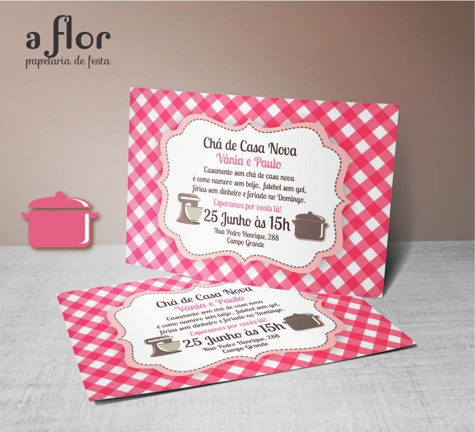 Convite Digital Chá De Casa Nova 2 No Elo7 A Flor 705ac2