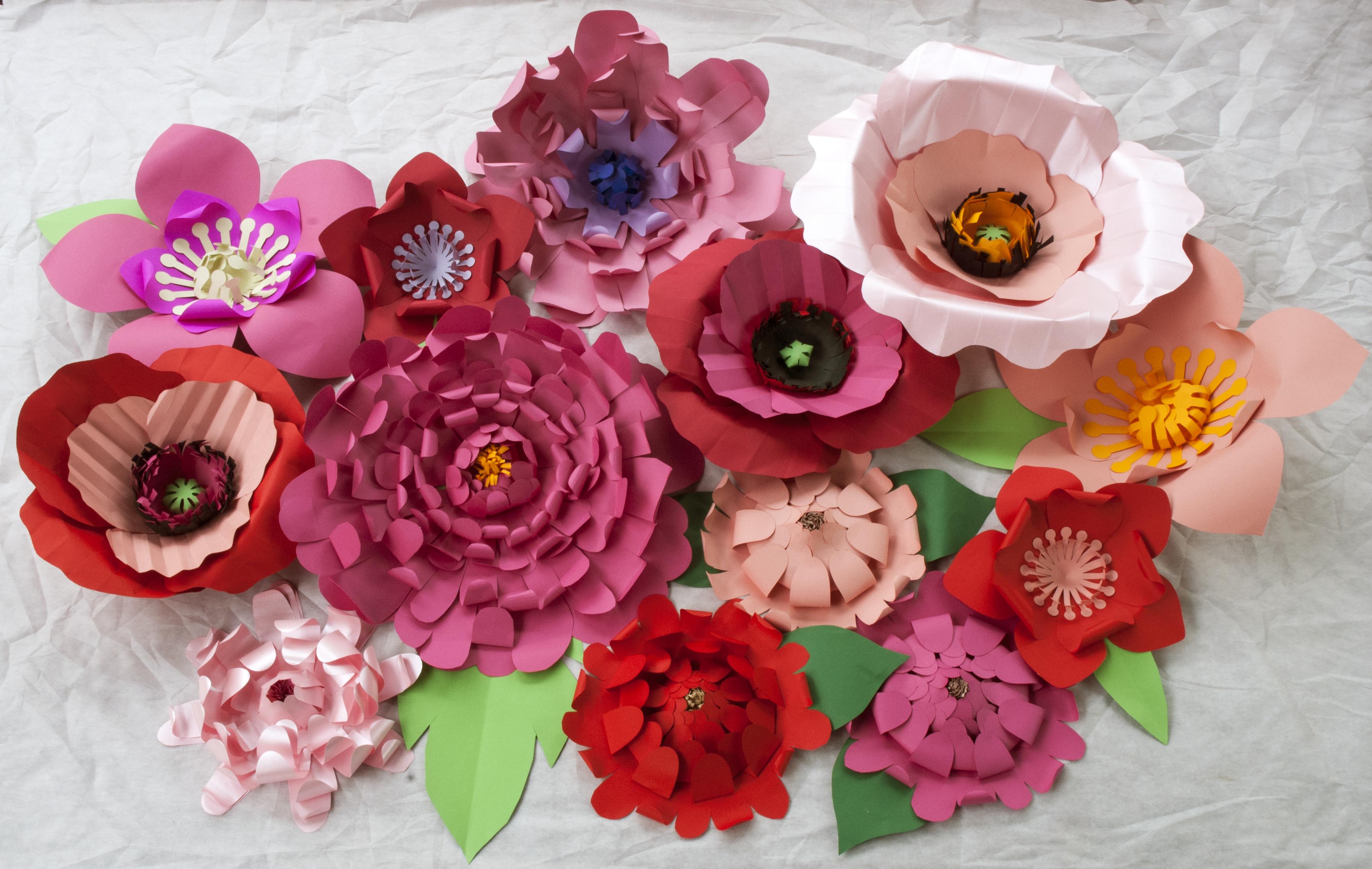 Fabuloso Flores gigantes para decoração no Elo7 | Cecile de Luz - Flores e  XY79