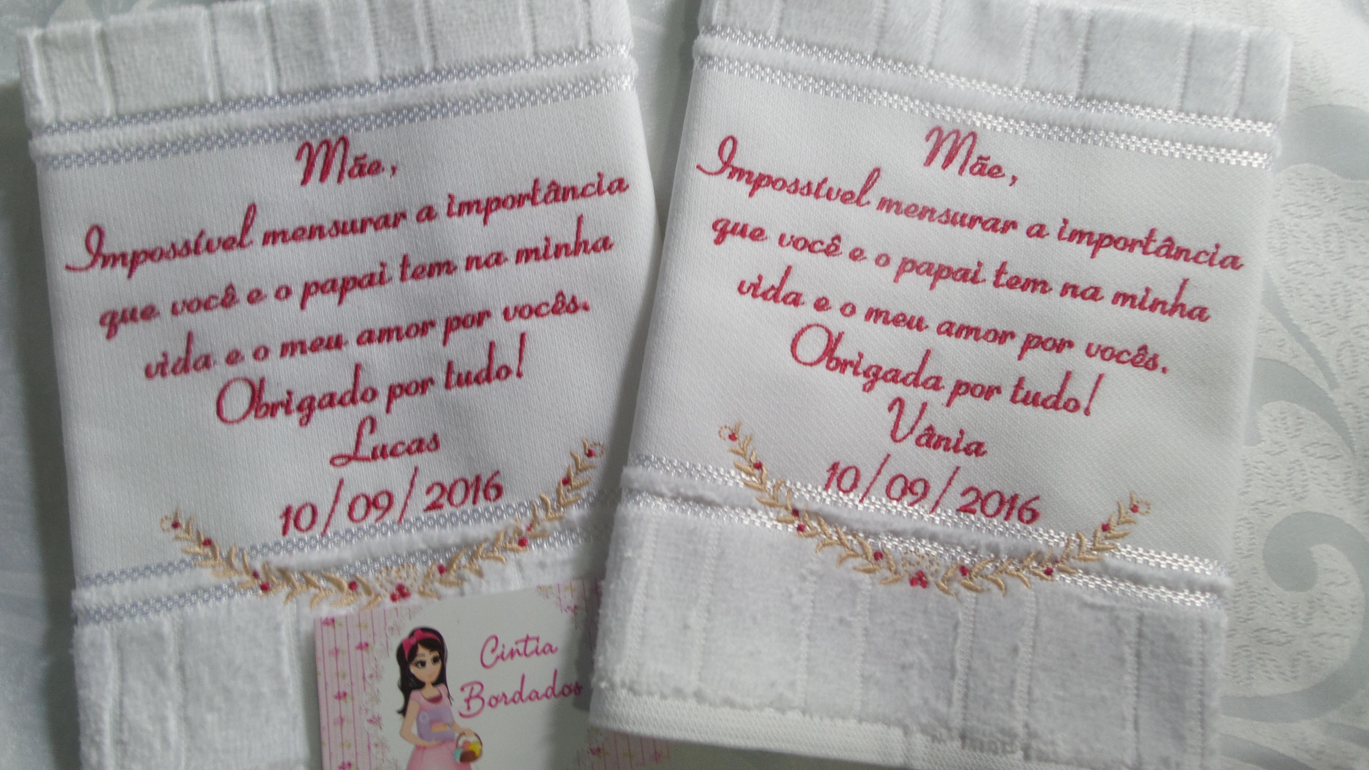 Casamento - Mensagem PERSONALIZADA