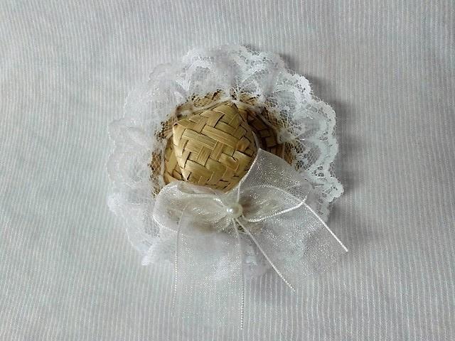 Mini Chapeu de Palha Caipira Pet  20911858e1d