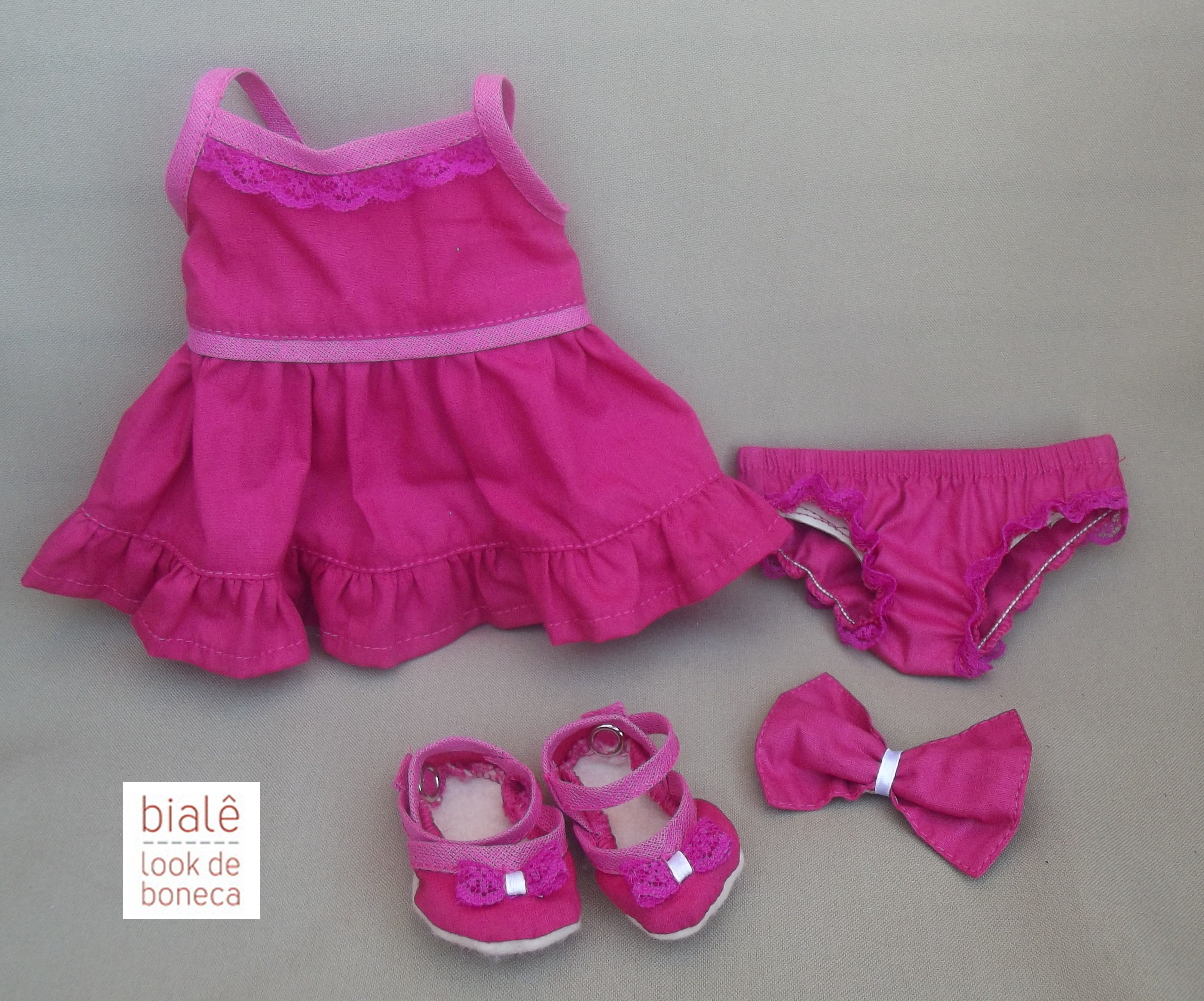 Pink Baby Doll Shoes