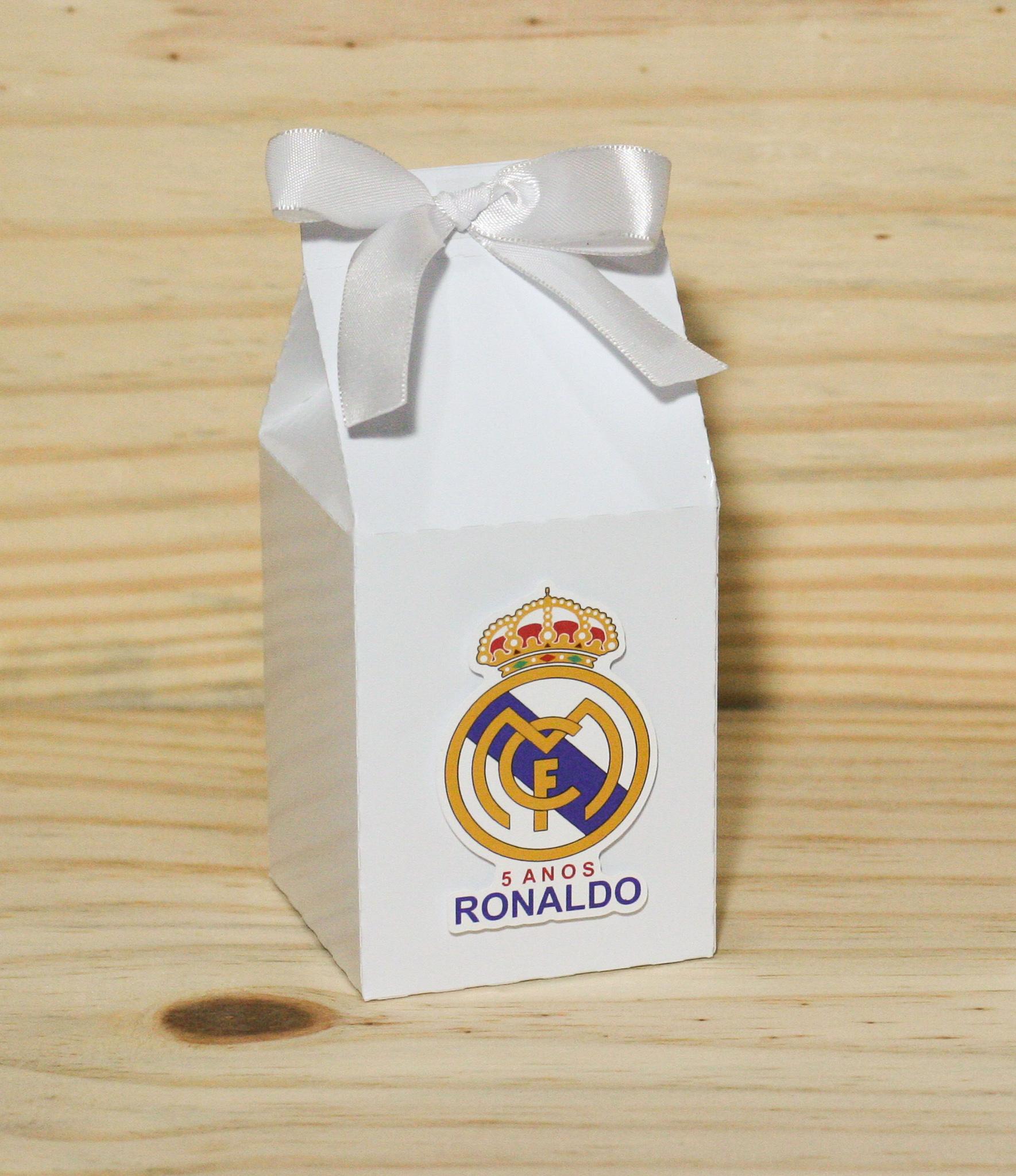 686e986568 Caixa Camisa Futebol Real Madrid