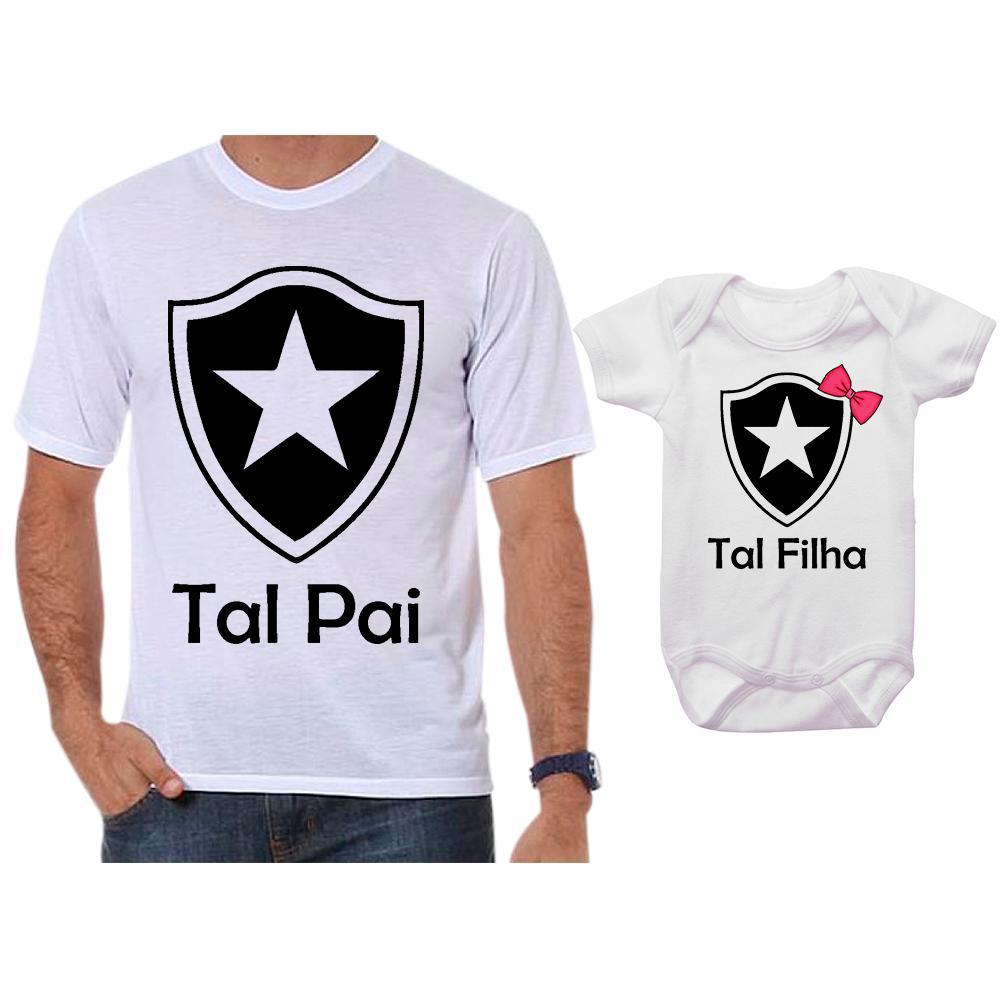 Camiseta Pai E Filha Elo7